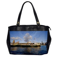 Hong Kong Ferry Oversize Office Handbag (One Side)