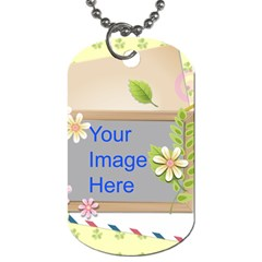 Spring Flower Dog Tag (Two Sides)