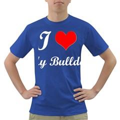 I-Love-My-Bulldog Dark T-Shirt