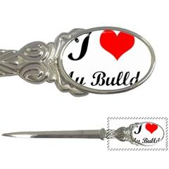 I-Love-My-Bulldog Letter Opener