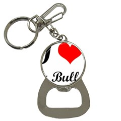 I-Love-My-Bulldog Bottle Opener Key Chain