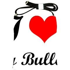 I-Love-My-Bulldog Shoulder Sling Bag