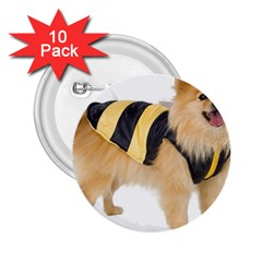 Dog Photo 2 25  Button (10 Pack)