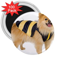 Dog Photo 3  Magnet (100 Pack)