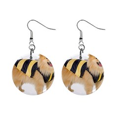 dog-photo 1  Button Earrings
