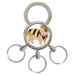 dog-photo 3-Ring Key Chain