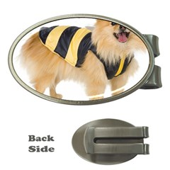 dog-photo Money Clip (Oval)