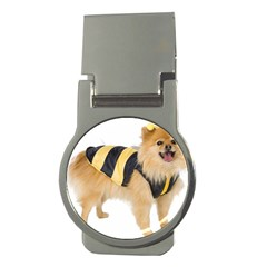 Dog Photo Money Clip (round)