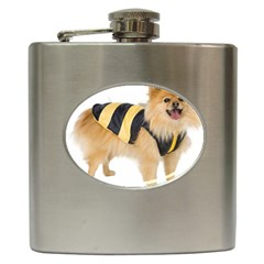 Dog Photo Hip Flask (6 Oz)