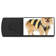 dog-photo USB Flash Drive Rectangular (1 GB)
