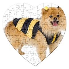 dog-photo Jigsaw Puzzle (Heart)