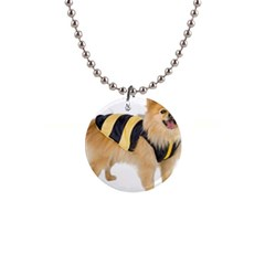 Dog Photo 1  Button Necklace