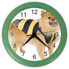 dog-photo Color Wall Clock
