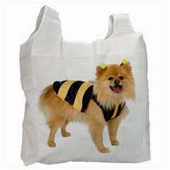 Dog Photo Recycle Bag (one Side)