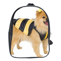 dog-photo School Bag (Large)