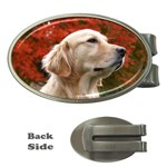 dog-photo cute Money Clip (Oval) Front