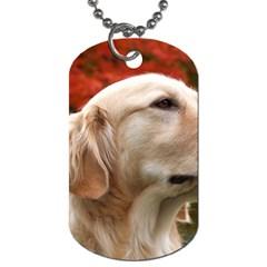 dog-photo cute Dog Tag (One Side)