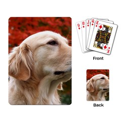 Dog Photo Cute Playing Cards Single Design