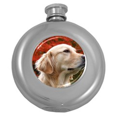 dog-photo cute Hip Flask (5 oz)