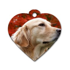 Dog Photo Cute Dog Tag Heart (one Side)