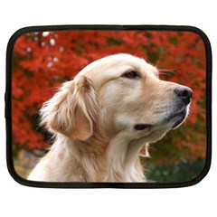 Dog Photo Cute Netbook Case (large)