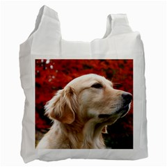 dog-photo cute Recycle Bag (One Side)