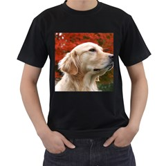 dog-photo cute Black T-Shirt