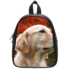 dog-photo cute School Bag (Small)