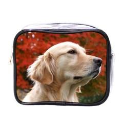 Dog Photo Cute Mini Toiletries Bag (one Side)