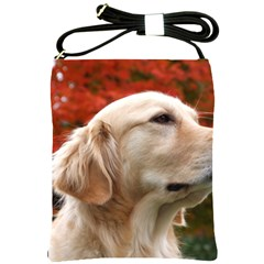 Dog Photo Cute Shoulder Sling Bag