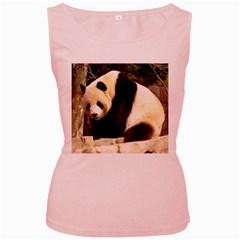 Giant Panda National Zoo Women s Pink Tank Top