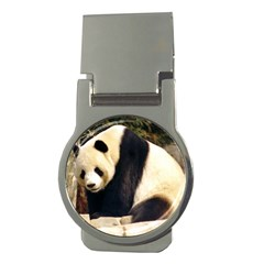 Giant Panda National Zoo Money Clip (round)