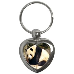 Giant Panda National Zoo Key Chain (heart)