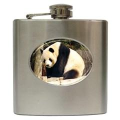 Giant Panda National Zoo Hip Flask (6 Oz)