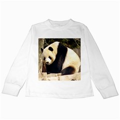 Giant Panda National Zoo Kids Long Sleeve T-Shirt