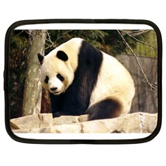 Giant Panda National Zoo Netbook Case (large)