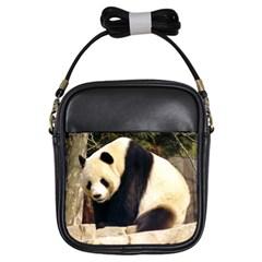 Giant Panda National Zoo Girls Sling Bag
