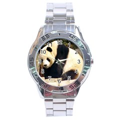 Giant Panda National Zoo Stainless Steel Analogue Men's Watch
