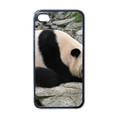 giant-panda-water Apple iPhone 4 Case (Black)