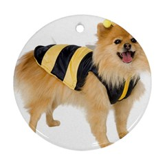 My Dog Photo Ornament (round)