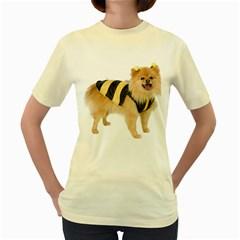 My-Dog-Photo Women s Yellow T-Shirt