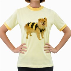My-Dog-Photo Women s Fitted Ringer T-Shirt