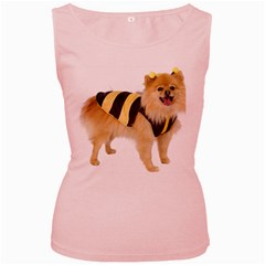 My-Dog-Photo Women s Pink Tank Top