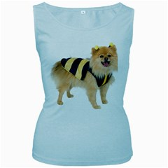 My-Dog-Photo Women s Baby Blue Tank Top