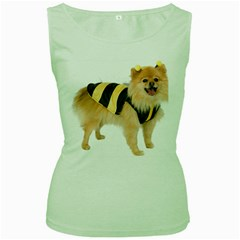 My-Dog-Photo Women s Green Tank Top