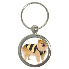 My Dog Photo Key Chain (round)