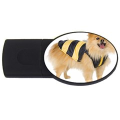 My Dog Photo Usb Flash Drive Oval (2 Gb)
