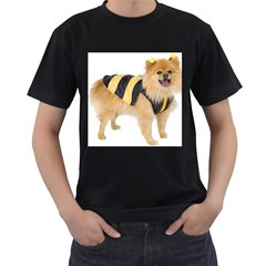 My Dog Photo Black T Shirt (two Sides)