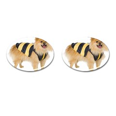 My-Dog-Photo Cufflinks (Oval)