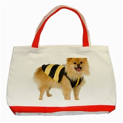 My Dog Photo Classic Tote Bag (red)